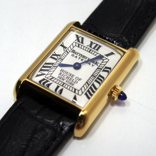 COLIMBO(コリンボ)[BATTERY PARK SOUVENIR WATCH]Made in Swiss レクタンギュラーケース レクタンギュラーウォッチ 腕時計 CATENA社製 ETA社ムーブメント 手巻きタイプ!