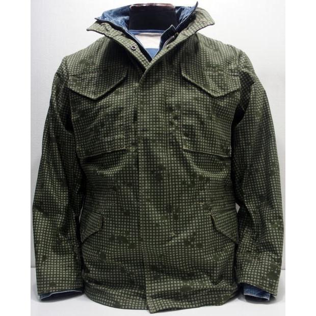 COLIMBO(コリンボ)[HAMILTON FIELD COAT/M-65-Olive]M-65 フィールドコート ミリタリー ナイトカモ カモフラージュ 日本製!