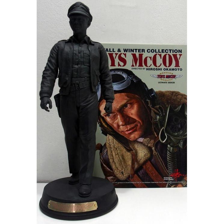 TOYS McCOY(トイズマッコイ)[CAPTAIN McCOY STATUE USAAF PILOT/限定生産アイテム!]スティーブ・マックイーン キャプテン マッコイ スタチューフィギュア・ホビー 限定生産!