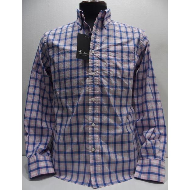 Sweep!!(スウィープ)[CAL Check Button Down Shirts/Long]カリフォルニアチェック ビタミンカラー ポプリン ボタンダウンシャツ 長袖シャツ!