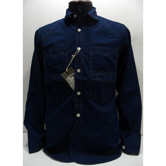 COLIMBO(コリンボ)[TRAPPER'S SHIRT/Cotton Chambray]長袖シャツ トラッパーズシャツ ワークシャツ 日本製!
