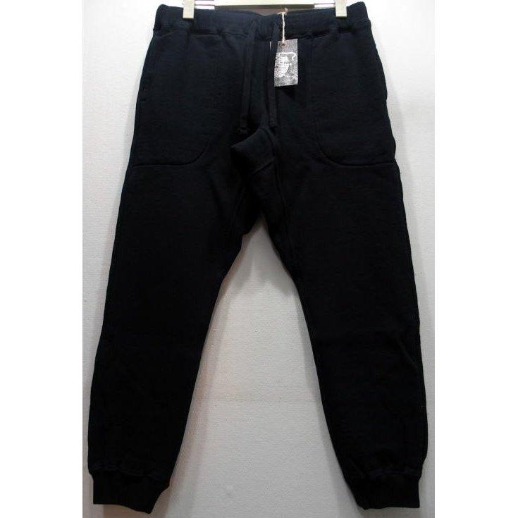 【2019秋冬 新作】COLIMBO(コリンボ)[FAIRBANKS SWEAT PANTS/Black]スウェットパンツ アスレチィックパンツ ジョガーパンツ 日本製