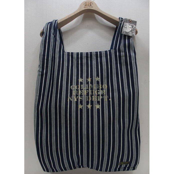 COLIMBO Shopping Tote 値下げ Bag 2021春夏 新作 コリンボ 大容量 日本製 新作続 トートバッグ Stripe エコバッグ ショッピングバッグ