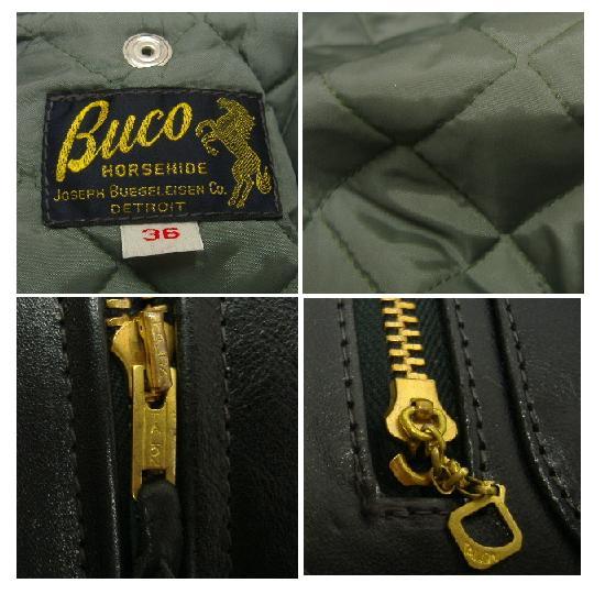THE REAL McCOY'S(这种真实麦科伊)BUCO(buko)[J-24 HORSE HIDE JACKET]骑手茄克!