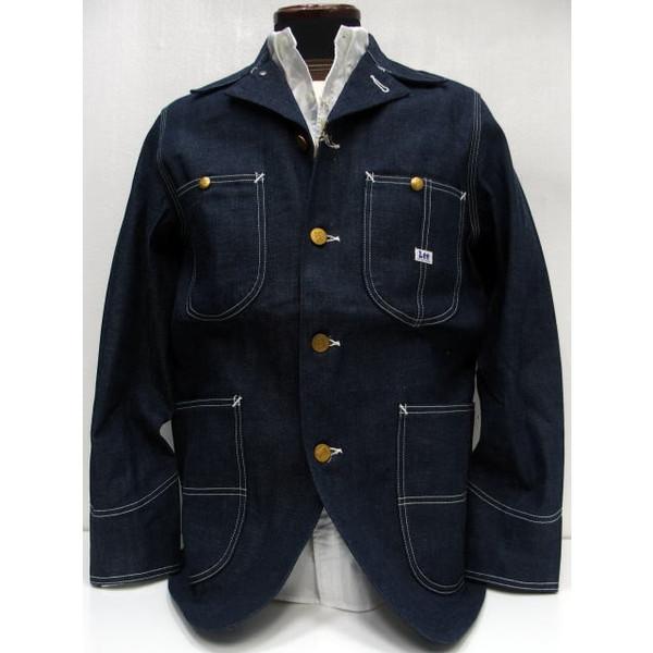 【再入荷】Lee(リー)Archive Real Vintage [1940 Coverall Jacket/91J]デニム カバーオール ロコジャケット デニムジャケット
