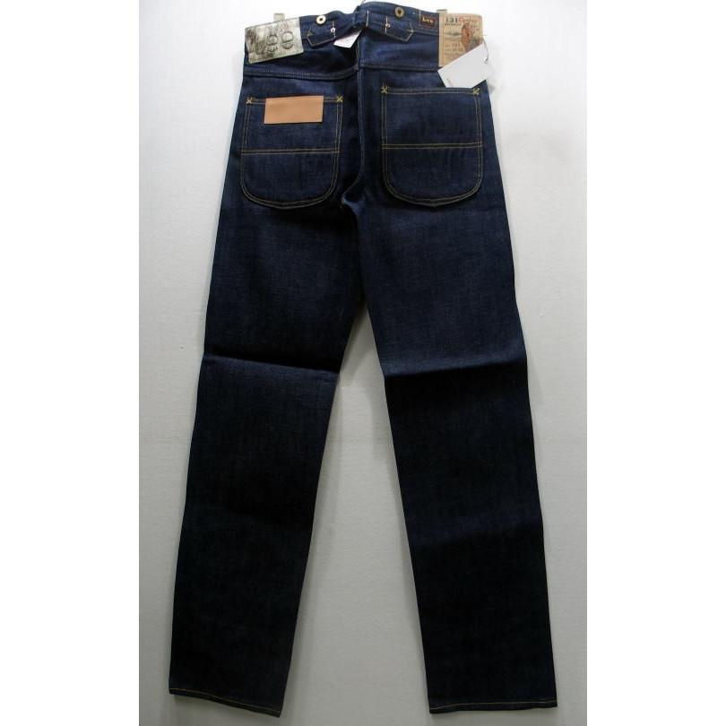 Lee(リー)Real Vintageジーンズ[34' COWBOY MODELLot. 131]デニム ペインターパンツ COWBOY 131 1934年モデル (ノンウォッシュ)