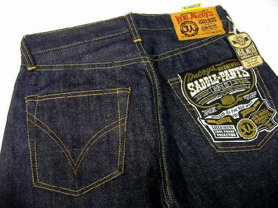 THE REAL McCOY'S(这种真实麦科伊)复古牛仔裤COWBOY MODEL[Lot S613]