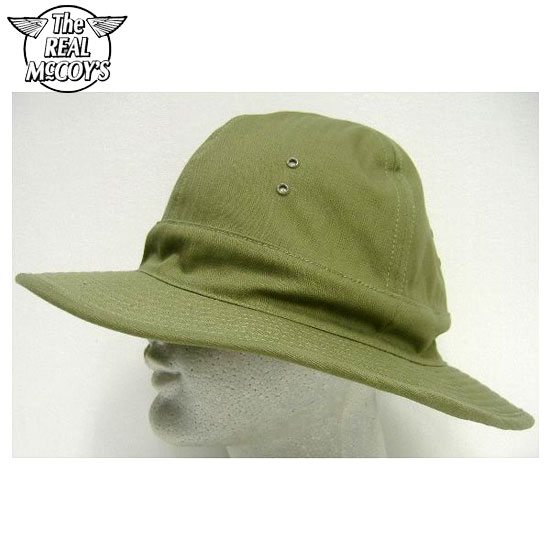 THE REAL McCOY'S(这种真实麦科伊)MILITARY ARMY HAT[H.B.T.]军事陆军帽子