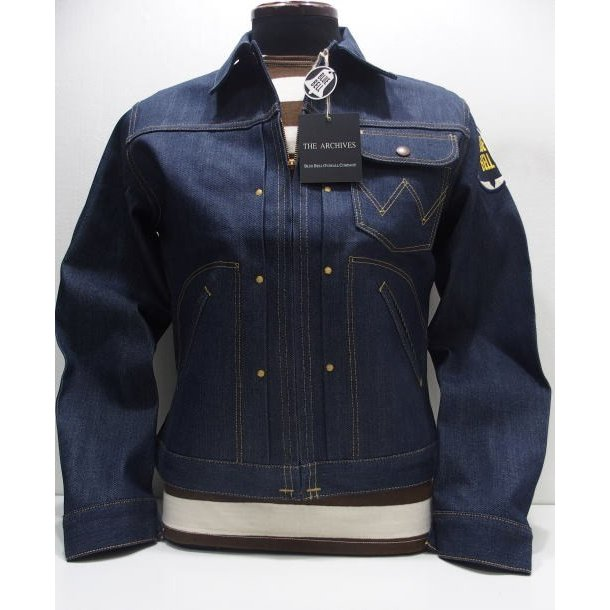 Wrangler(ラングラー)Archives Real Vintage [11MJZ Champion Jacket] 限定生産モデル チャンピオンジャケット ジージャン デニムジャケット 日本製
