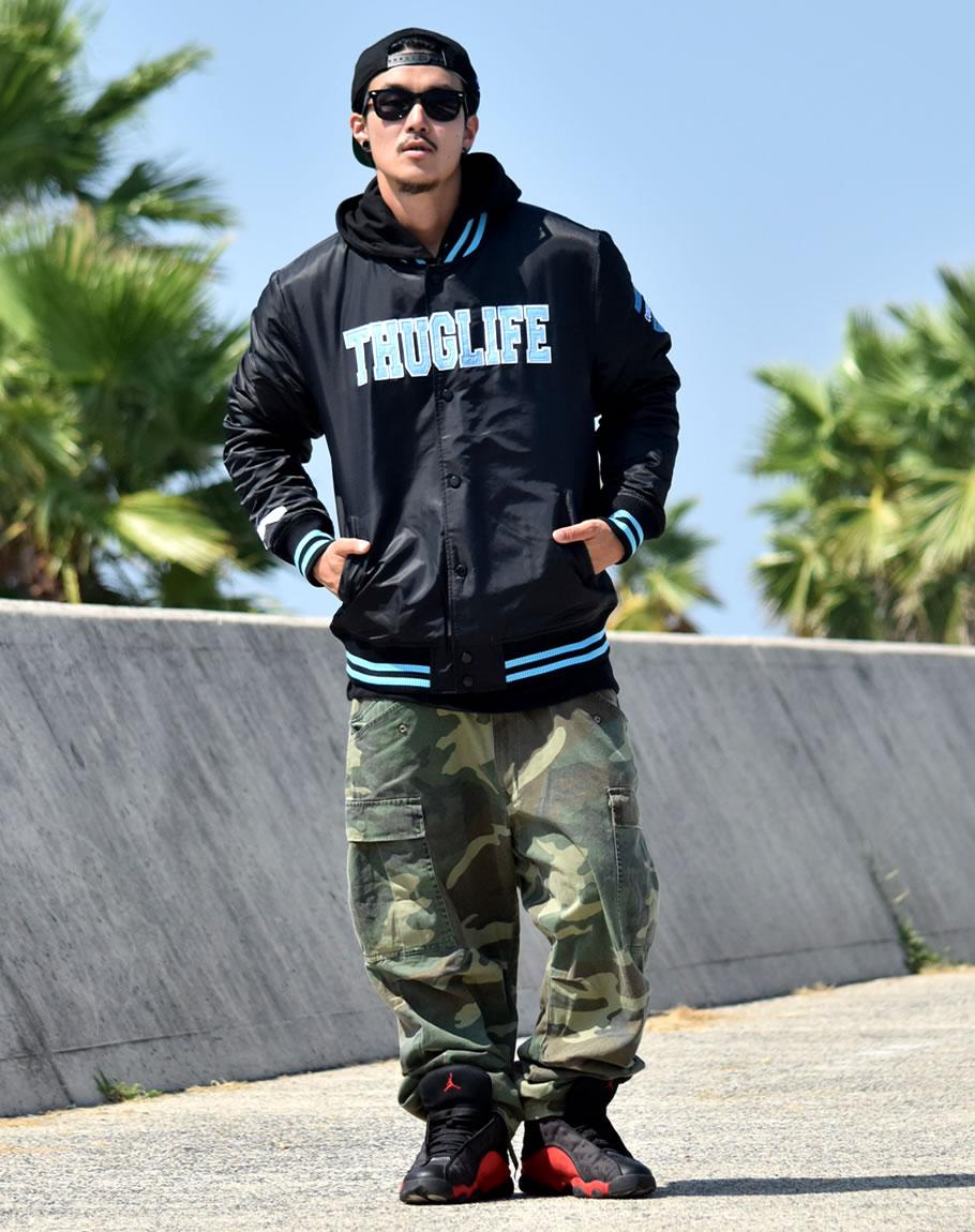 DOP Jacket Stajan Stadium Mens 2 PAC Wessi West Coast LA Gang THUG LIFE Skater B Series Fashion Hip Hop Street System HIP HOP