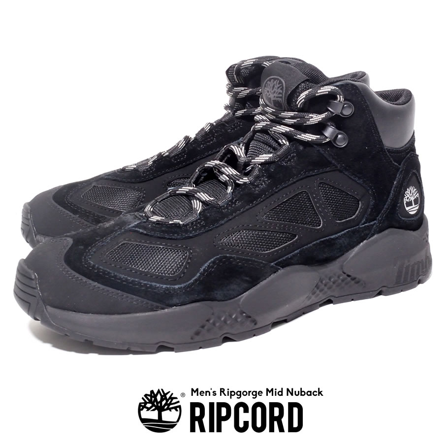 Timberland ティンバーランド ブーツ トレッキングシューズ メンズ RIPCORD 登山 登山靴 ハイキングブーツ ウィート ヌバック ミッド MID TB0A214D015