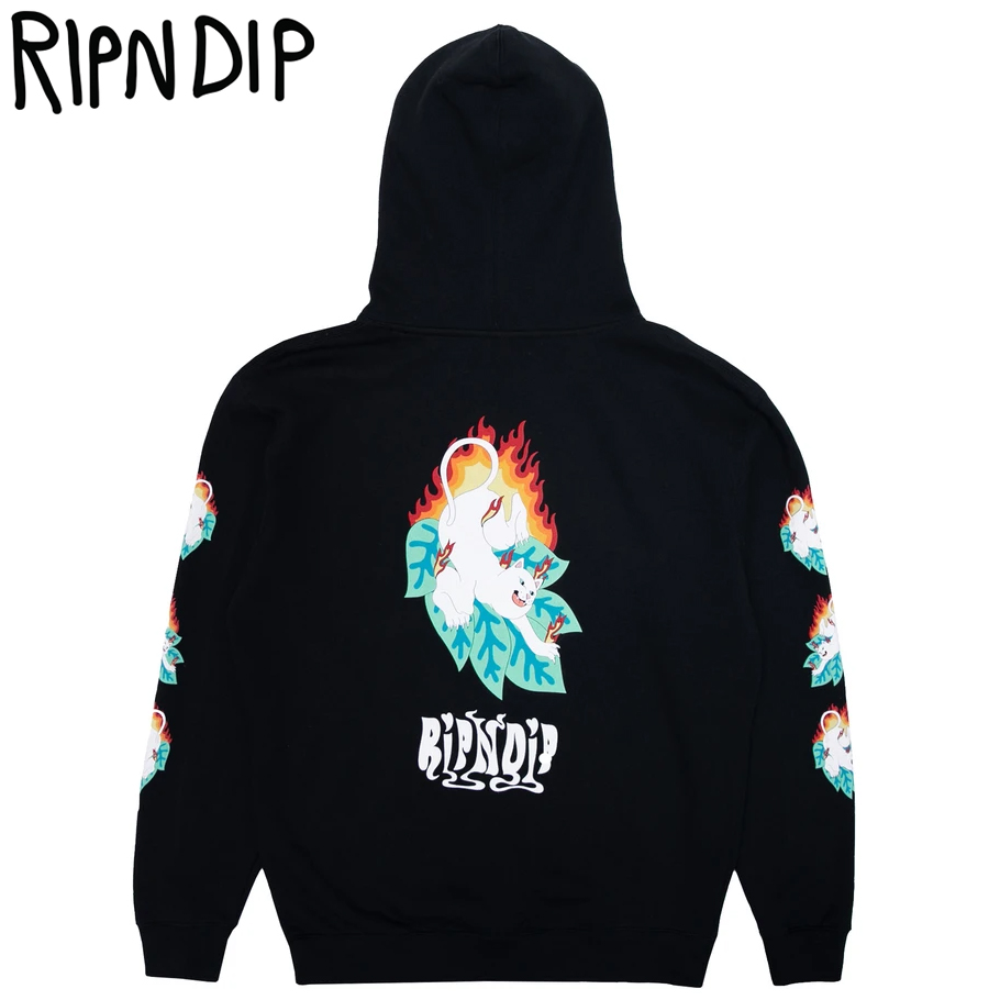 RIPNDIP リップンディップ プルオーバーパーカー メンズ スウェット ストリート ファッション Fuego Hoodie RND4125