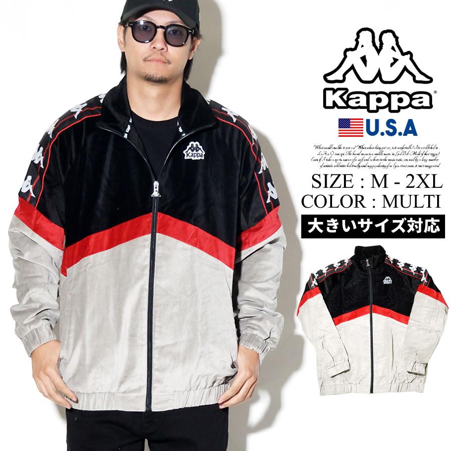 KAPPA カッパ トラックジャケット フリース ライン BANDA B系 ファッション ヒップホップ ストリート系 AUTHENTIC CABRINI