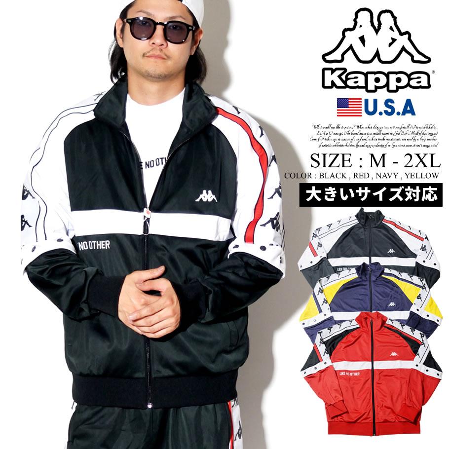 KAPPA カッパ ジャージ トラックジャケット サイドライン BANDA B系 ファッション ヒップホップ ストリート系 304IDF0