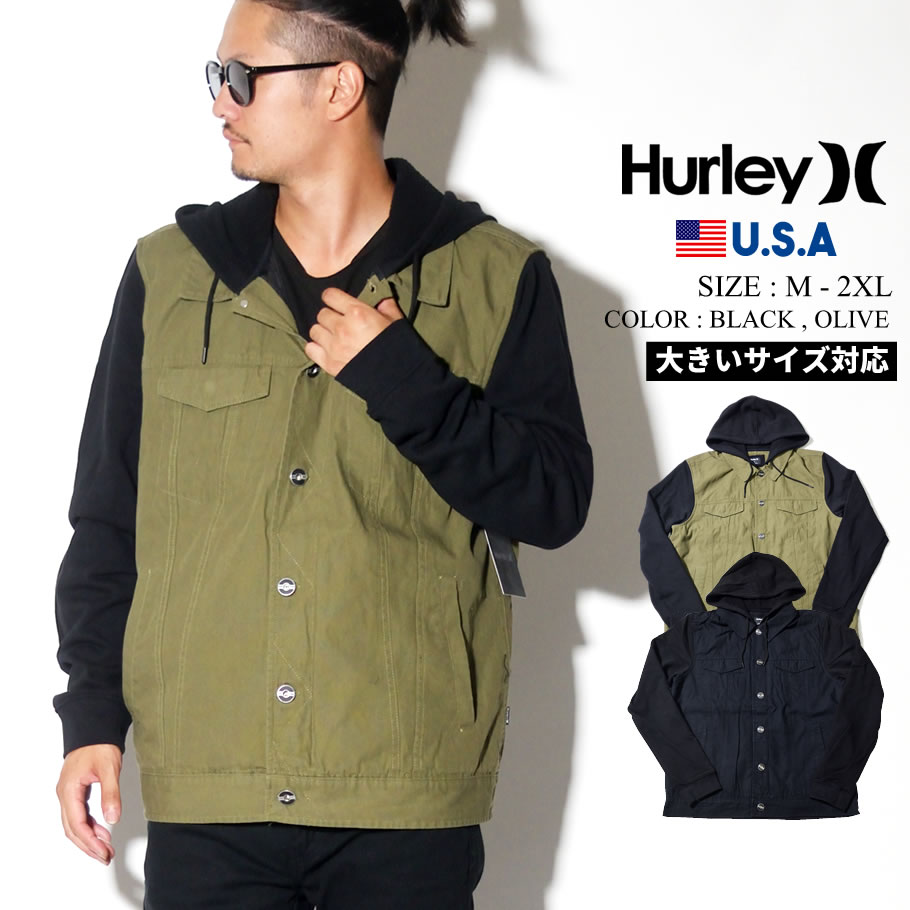 Hurley ハーレー トラッカージャケット メンズ BV2122 2019秋 新作