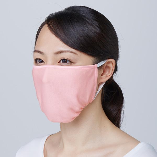 春の新作 就寝時 のどの弱い人や乾燥する人にオススメ お口の中の乾燥対策に 口臭予防 新色追加して再販 乾燥対策 ピンク 立体形状 シルク おやすみマスク