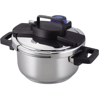 3層底ワンタッチレバー圧力鍋4.0L H-5388