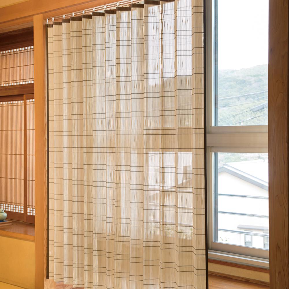 竹すだれカーテン 200×170cm 1枚 TC1507W