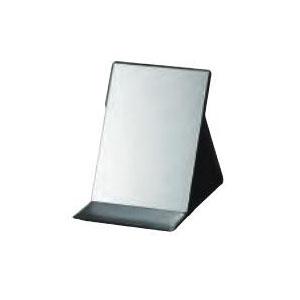 ヤマムラ 折立鏡 250×300mm (ミラーストッパー4本入) ブラック YKS-5700