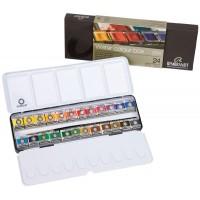 REMBRANDT レンブラント固形水彩絵具 24色セット T.05M8624 453902