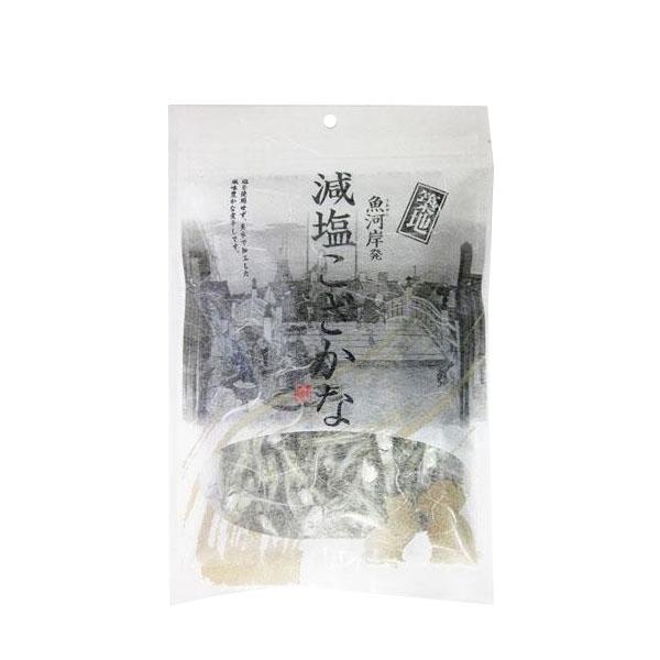 ナチュラルフーズ 国産 犬猫用 築地減塩こざかな 80g×10袋セット