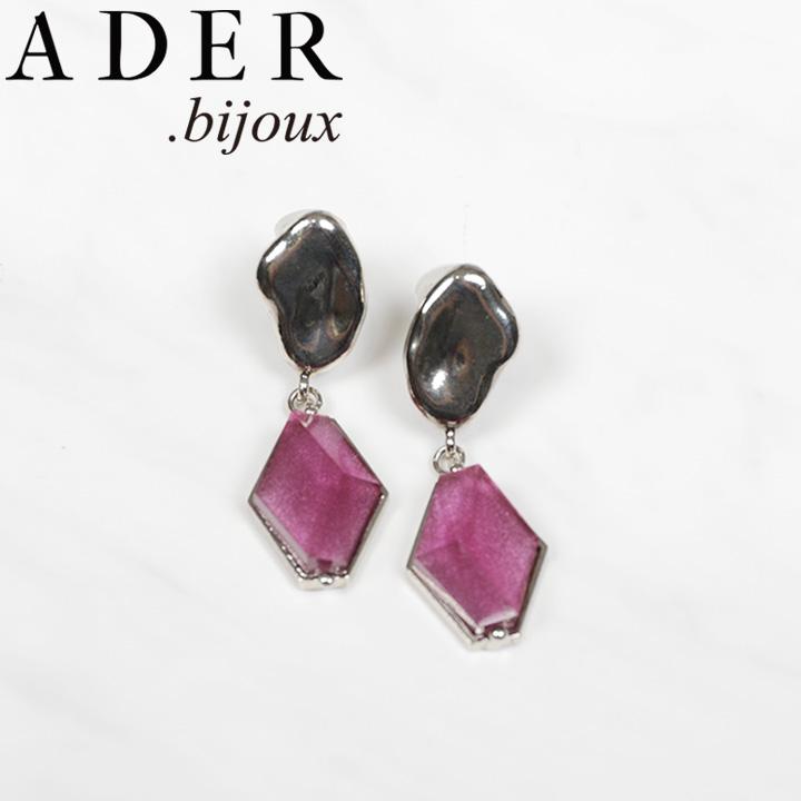 正規品 送料無料 ADER.bijoux アデルビジュー VITRAIL diamond RE-1153 あす楽対応可 ピアス 正規認証品!新規格 お求めやすく価格改定 アデル 正規販売店 イヤリング