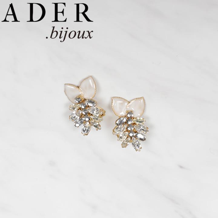 [あす楽対応可] [正規販売店] ADER.bijoux アデルビジュー アデル LILA big clip イヤリング RE-606