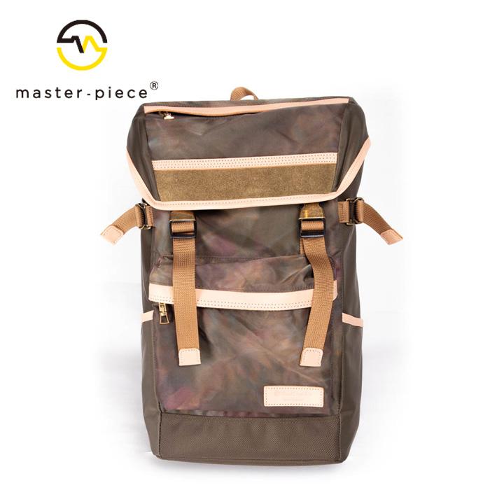 [正規品] MASTER PIECE マスターピース Dencity Dye バックパック バッグ 01359-dye ナイロン 牛革 カジュアル メンズ 店舗 日本製 新品 プレゼント 新品