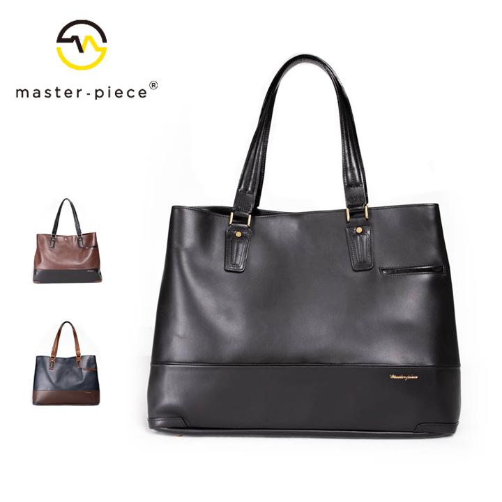 [正規品] MASTER PIECE マスターピース Gloss トートバッグ バッグ 01643-v2 牛革 カジュアル ビジネス メンズ 店舗 日本製 新品 プレゼント 新品