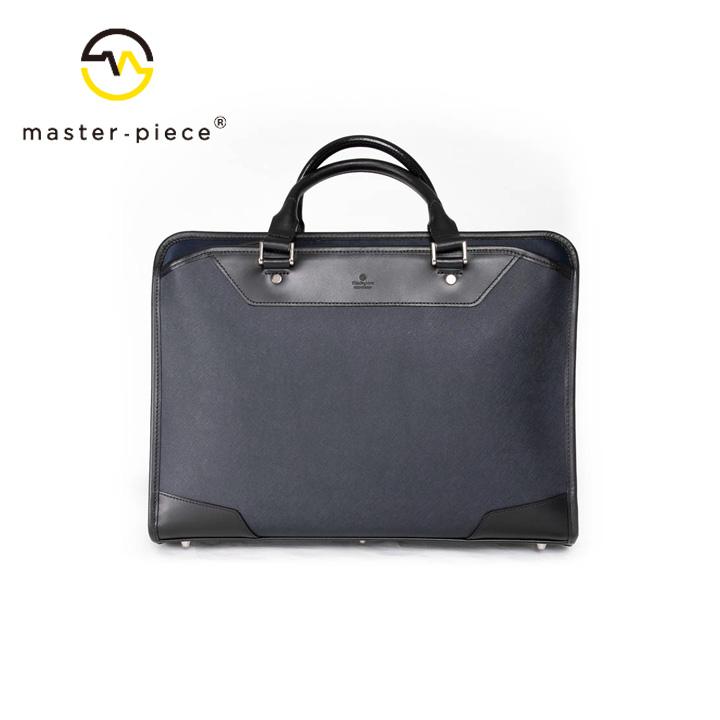 [正規品] MASTER PIECE マスターピース AVENUE ブリーフケース バッグ ビジネスバッグ ショルダー 43082 ナイロン 牛革 カジュアル ビジネス メンズ 店舗 日本製 新品 プレゼント 新品