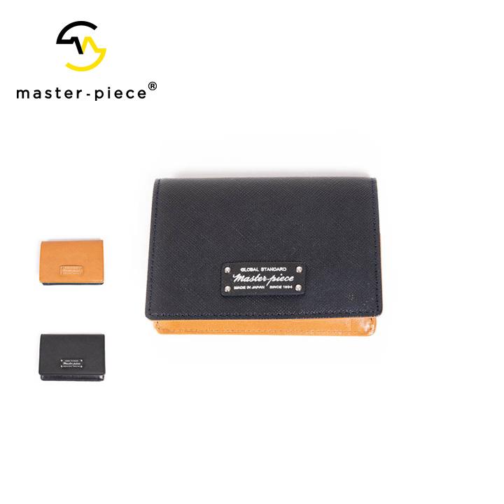 [正規品] MASTER PIECE マスターピース noble カードケース 名刺入れ 525084 牛革 カジュアル ビジネス メンズ 店舗 日本製 新品 プレゼント 新品