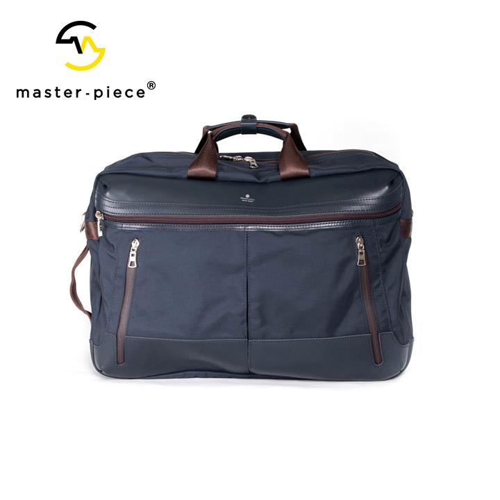 [正規品] MASTER PIECE マスターピース STREAM 3WAYブリーフケース ビジネスバッグ バッグ 55510 ナイロン 牛革 カジュアル ビジネス メンズ 店舗 日本製 新品 プレゼント 新品
