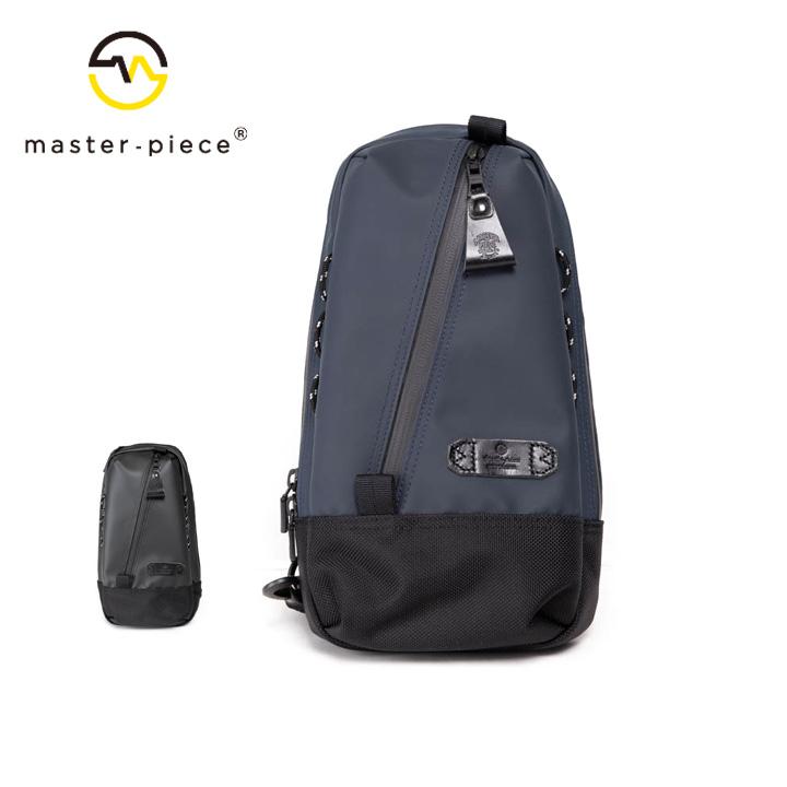 [正規品] MASTER PIECE マスターピース SLICK スリングバッグ バッグ 55549 ナイロン 牛革 カジュアル ビジネス メンズ 店舗 日本製 新品 プレゼント 新品
