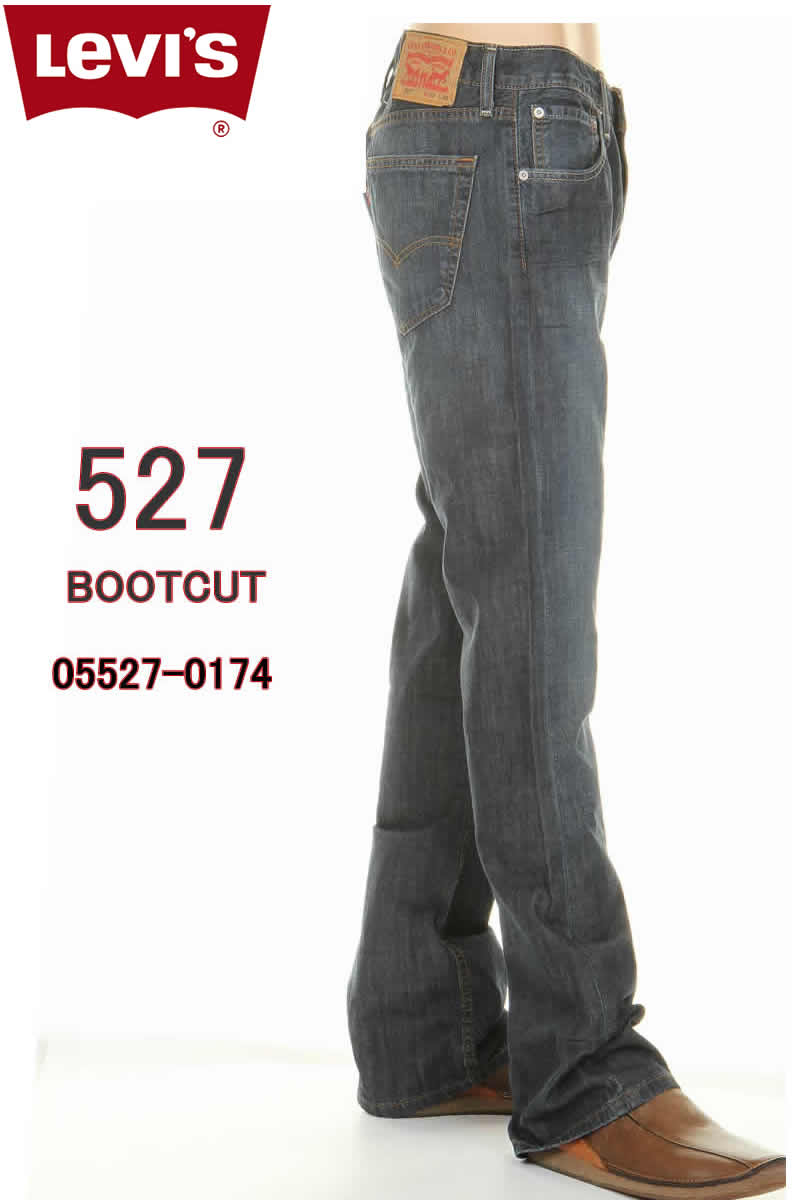 020bb4c29a2 Levi's 05527-0174 IRREGULAR SLIM FIT BOOT CUT Levis 527 irregular slim  fitting bootcut jeans ...
