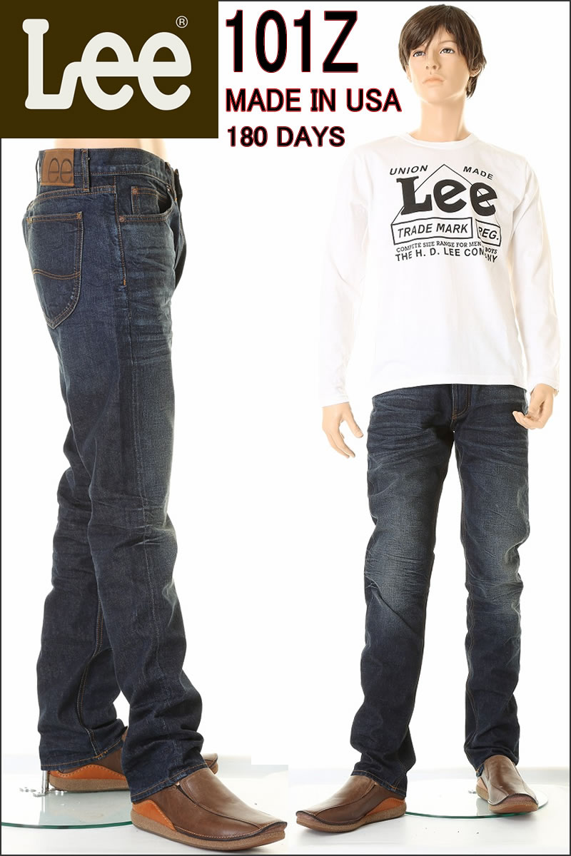 LEE MADE IN USA 101Z LEE VINTAGE CLOTHING新貨1952型號(52'Sリジット180 DAYS)