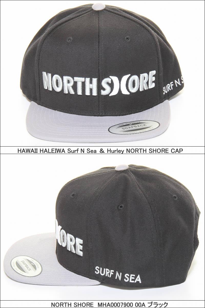 HURLEY SURF-N-SEA MHA0007900 NORTH SHORE CAP SNS north shore collaboration  cap surf and sea Harley 7b14f9413cba