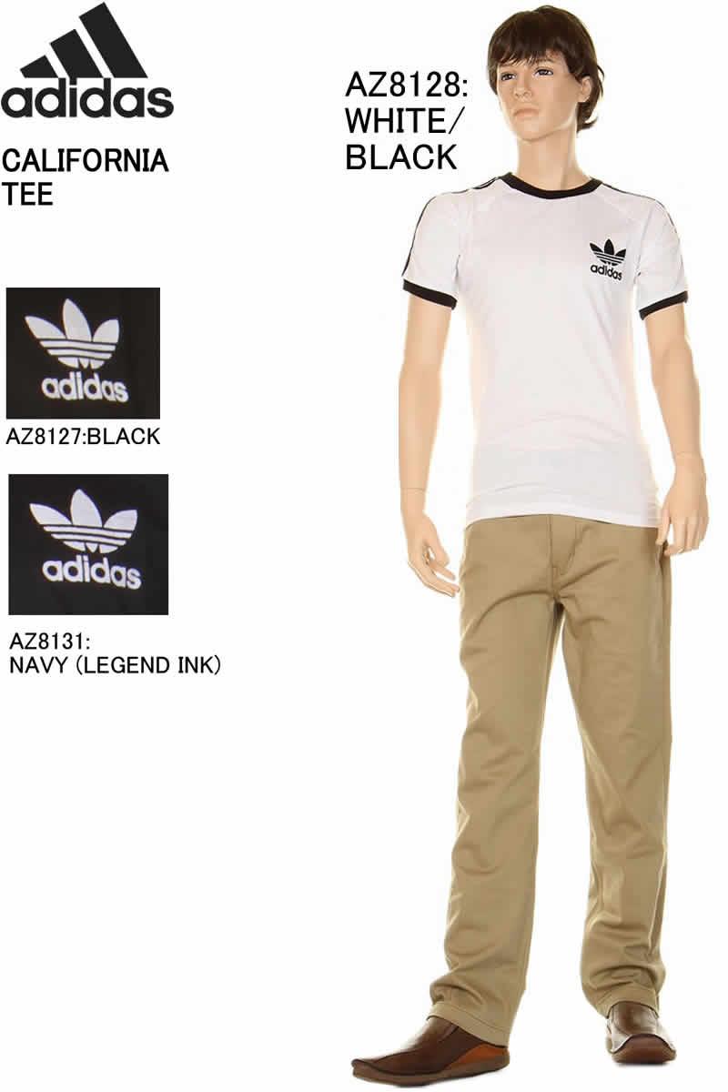 1d65b300 adidas Adidas CALIFORNIA TEE adidas Adidas AZ8128 AZ8127 AZ8131 CALIFORNIA  TEE California Short Tee オリジナルトレフォイル ...