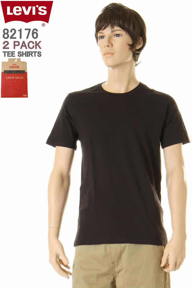 288ee3ce9762 ... Two pieces of 66,547-0002 ORIGINAL JEANS 2PACK-CREW NECK TEE-STANDARD  FIT