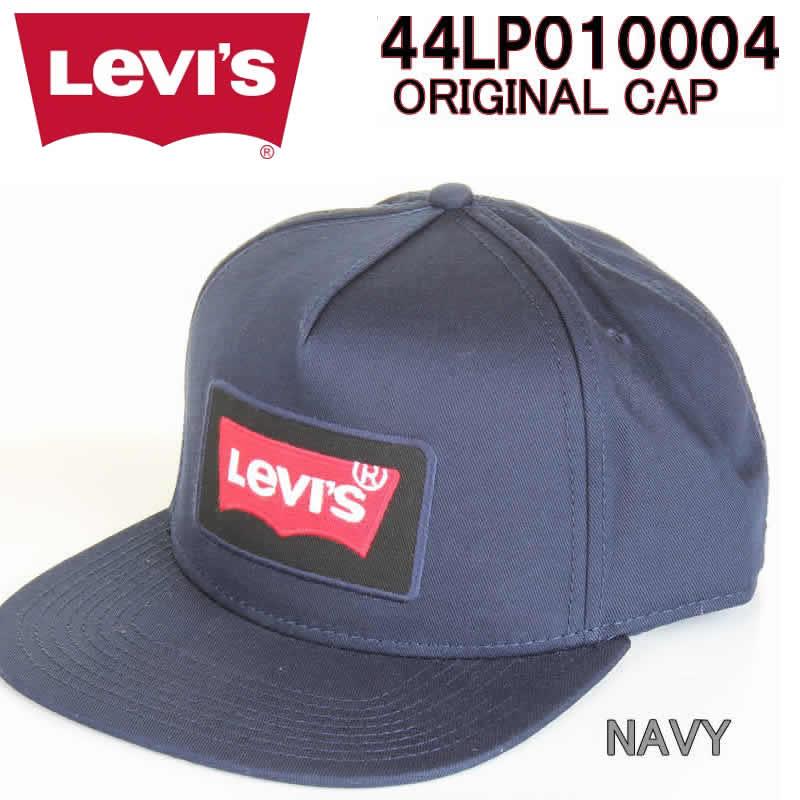 5001313f1af LEVI S 44LP010004 ORIGINAL SNAPBACK CAP Levis original snapback cap NAVY RED  hat bat wing