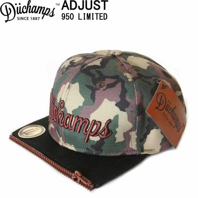 DUCHAMPS CAP BORU IN LOS ANGELES CAMO WOOD CAP デュチャンプス キャップ スナップバックキャップ 刺繍【ロサンゼルス アメリカ帽子 SNAP BACK 950 ベースボールキャップ 帽子 ナインフィフチィーキャップ SINCE 1887 CALIFORNIA BRAND】