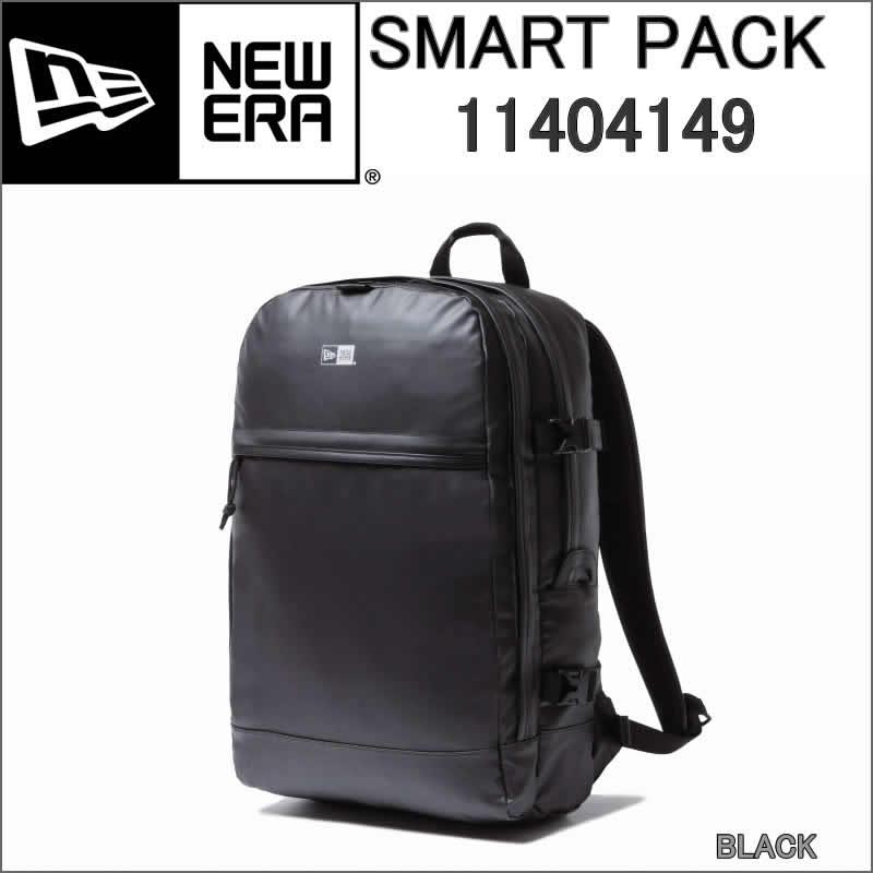 NEW ERA 11404149 ニューエラ SMART PACK スマートパック BACK PACK バックパック ラックサック ターポリン 黒 ブラック【NEWERA デイパック デイリー リュック バック パック SMARTPACK 1680D BLACK 22L BLACK BAGS & PACKS BLACK 22Lリットル】
