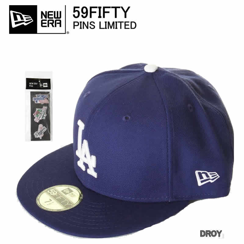 NEW ERA PINS LA 11322675 new era 59 FIFTY CAP Los Angeles Dodgers Cap pin  badge with NEWERA 6dca0d288e0