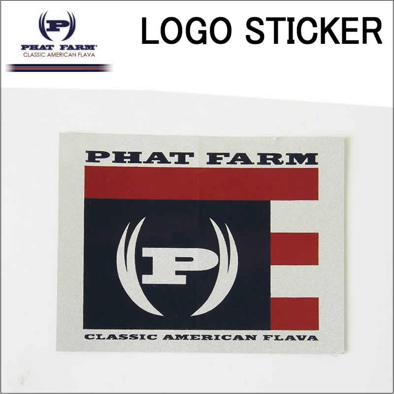 threelove rakuten global market phat farm phat farm logo sticker rh global rakuten com phat farm logo images phat farm cologne for men