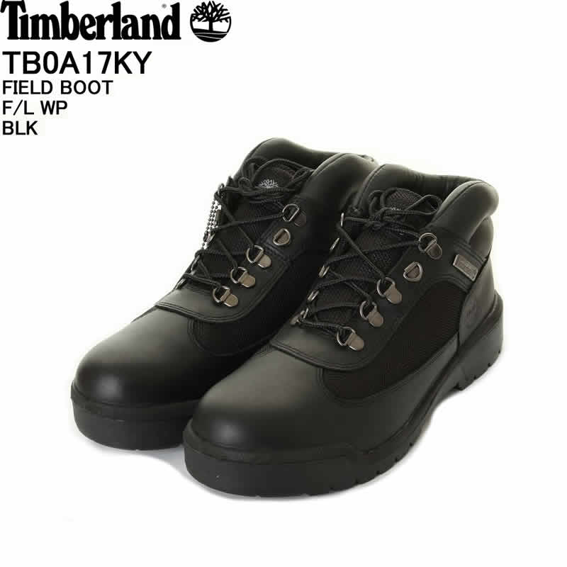2a128377e5004 Timberland Timberland TB0A17KY FIELD BOOT F/L WP field boots premium boots  black 0 A17KY ...
