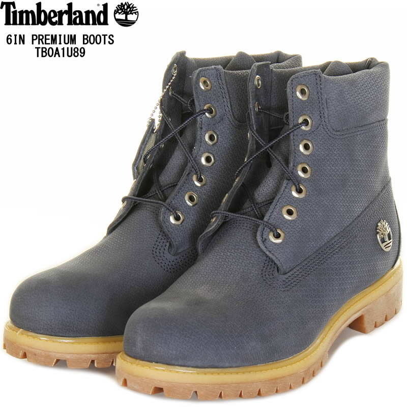 Timberland ティンバーランド TB0A1U89 メンズ アイコン シックスインチ プレミアム ブーツ ネイビー A1U89 6in 定番アイテム【アウトドア ティンバーランド ティンバー シックスインチブーツ ブーツ メンズ 靴 人気 上品 大人 a1u89 新品】