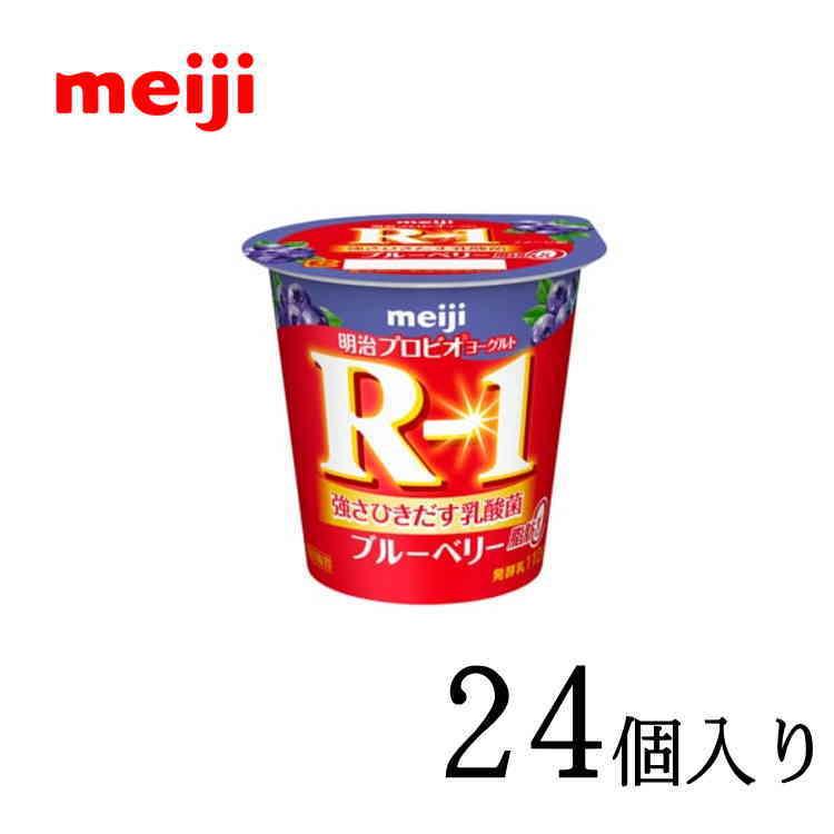 明治 r-1ヨーグルト 超安い 明治ヨーグルトR-1 ブルーベリー脂肪0 112g×24個 希少