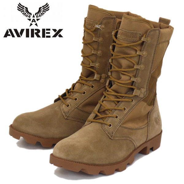 正規取扱店 AVIREX U.S.A.(アビレックス) AV2001 COMBAT(コンバット) BEIGE SUEDE