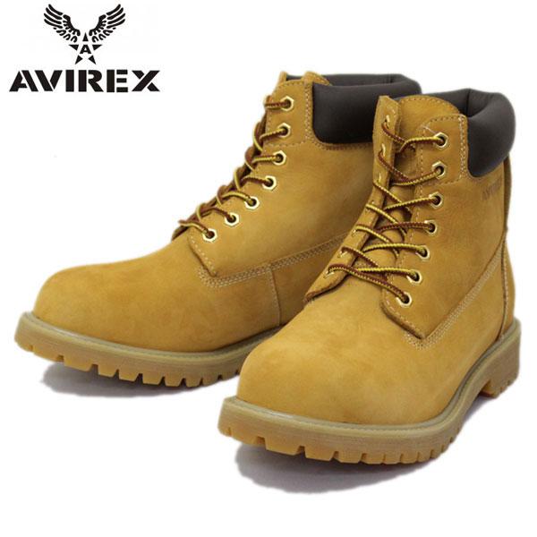 正規取扱店 AVIREX U.S.A.(アビレックス) AV3000 COBRA(コブラ) プレーンブーツ GOLD NUBUCK(ゴールドヌバック)