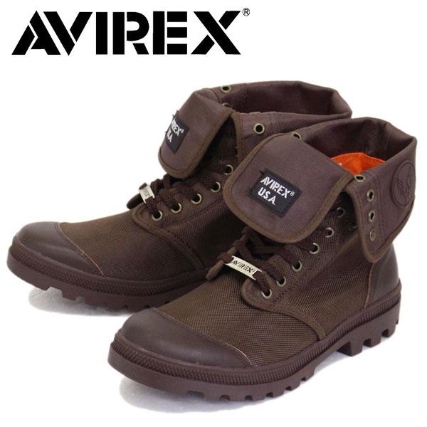 正規取扱店 AVIREX U.S.A.(アビレックス) AV3402 SCORPION HI NYLON(スコーピオンハイナイロン) DARK BROWN