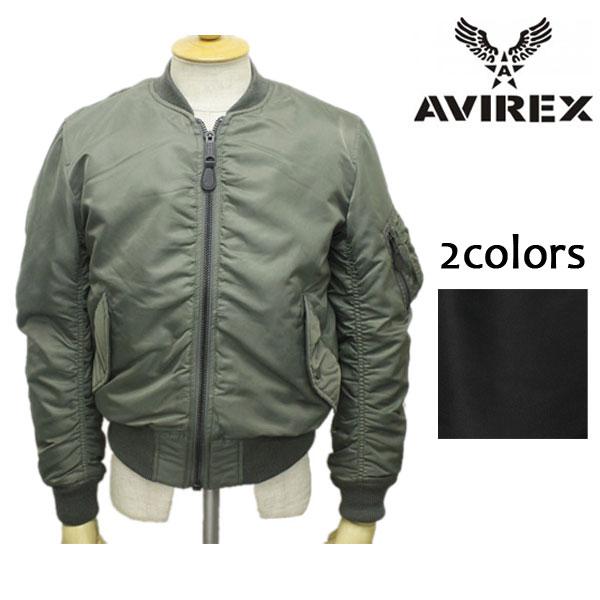 正規取扱店 AVIREX(アビレックス) MA-1COMMERCIAL(エムエーワン フライトジャケット コマーシャル) 全2色